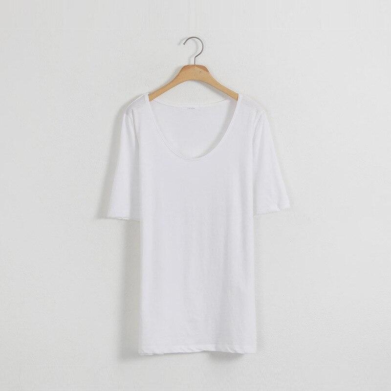 2020 Women Short Sleeve lvory Shirt Top Garment red
