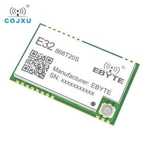 Image 2 - SX1276 868 МГц 100 мВт 20 дБм SMD TTL E32 868T20S ebyte беспроводной трансивер с большим радиусом действия 3 км LoRa IPEX передатчик и приемник
