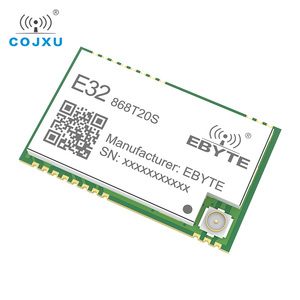 Image 2 - SX1276 868MHz 100mW 20 dBm SMD TTL E32 868T20S ebyte Wireless Transceiver Long Range 3km LoRa IPEX Transmitter and Receiver
