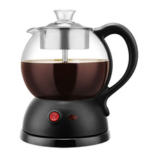 600W Button Type Tea Maker Black Tea Pu'er Steaming Machine Multi-function Steam Extraction Machine Gift Electric Appliance fully automatic tea making black steam electric kettle glass machine