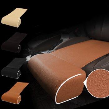 Cojín para asiento de coche, almohada de apoyo para pies, soporte para piernas, almohadilla Universal de cuero para rodilla, cojín de apoyo para los muslos, almohada Interior para coche