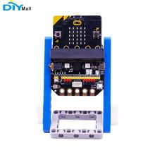 For Micro:bit Basic:Bit IO Expansion Board Horizontal Type Pinboard Microbit Python Development Board Support Building Block for crystaljet printing machine spares seiko print head io board