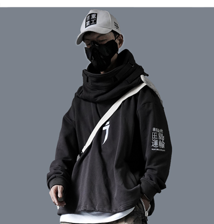 Techwear Streetwear Unique Hip Hop Hoodie