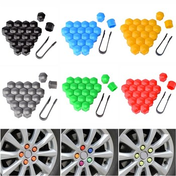 20 Pcs 17mm Car Wheel Nut Cap Auto Wheel Nut Covers Lug Wheel Cap Lug Nut Cover Car Styling External Tools For Car Accessories image