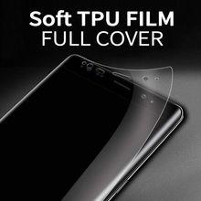 Full Coverage For Samsung Galaxy J3 2017 J330F J3 2018 Hydrogel Film Soft TPU Screen Protector For Samsung Galaxy J3 Pro Film недорого