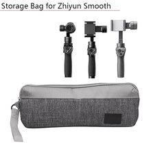 Saco de armazenamento caso para dji om 4 osmo móvel 2 3 zhiyun liso q 4 para fimi 3 eixo handheld estabilizador cardan acessórios peças