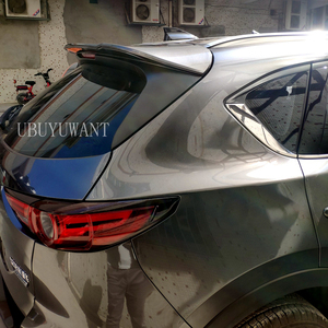Para Mazda cx-5 CX5 2017 2018 2019 2020 ABS alerón trasero Exterior maletero ala decoración coche estilo