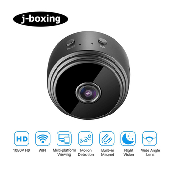 Mini Wireless Camera Full HD 1080P Home Security Surveillance Camcorder P2P Night Vision Motion Detection Remote Alarm Monitor