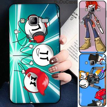 Diseny The henry stickmin collection Phone Case For Samsung Galaxy Note20 ultra 7 8 9 10 Plus lite J7 J8 Plus 2018 Prime image