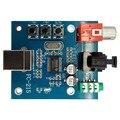 Pcm2704 аудио ЦАП Usb к S/Pdif звуковая карта Hifi ЦАП Декодер плата 3 5 мм аналоговый коаксиальный волоконно-оптический выход