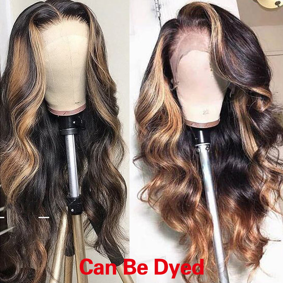 RXY Glueless Full Lace Wigs For Black Women Pre Plucked Full Lace Human Hair Wigs With Baby Hair Brazilian Body Wave Wig Remy