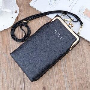Новая сумка для телефона lady han edition с застежкой-молнией, мягкий кожаный кошелек с зернистой текстурой, многофункциональная сумка с косым ремешком, сумка на одно плечо