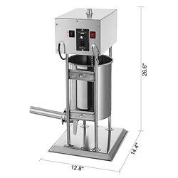 Handlowa elektryczna 12L pionowe nadziewarka do kiełbasy nadziewarka mięso ekspres ze stali nierdzewnej w Części do robotów kuchennych od AGD na