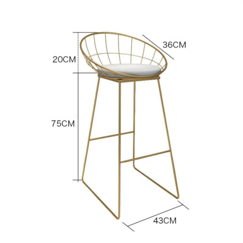Marble Bar Table Balcony Household Simple Milk Tea Shop Wall Bar Solid Wood High Foot Table And Chair Combination
