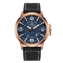 Календарь Мужские часы quartzwatch мужские Бизнес водонепроницаемые
