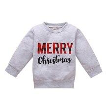 Sweatshirt Kids Girls Baby Casual Cotton Letter Tops Pullover Print Homesuit Autumn Boys