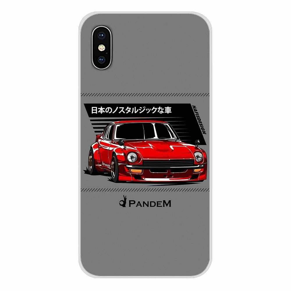Olahraga Mobil JDM Aksesoris Ponsel Case PENUTUP UNTUK Samsung Galaxy S3 S4 S5 Mini S6 S7 Edge S8 S9 s10 Lite Plus Note 4 5 8 9