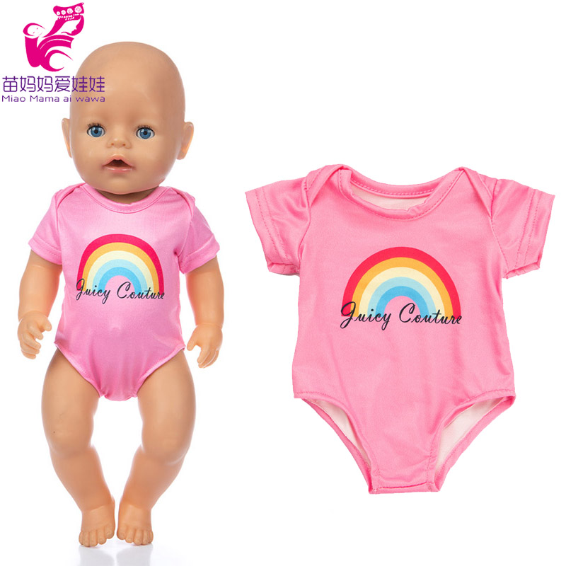 baby Doll bikini with cap for 18 inch girl doll swim clothes and cap set doll summer dress clothes