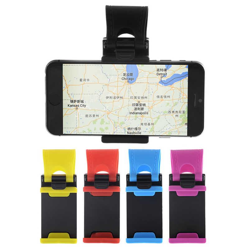 Profesional Kemudi Mobil Mount Pemegang ABS Band untuk iPhone untuk IPod MP4 GPS Ponsel Pemegang Mobil Berdiri untuk huawei