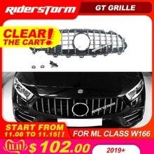 11.11GT гриль для CLS C257 GT гриль для Mercedes CLS amg Facelift CLS53 передняя решетка алмаза CLS300 CLS350 CLS450 CLS500 4 matic