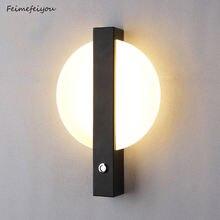 2021 6w светодиодный настенный светильник минималистичный декоративный
