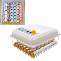 1pc 24 Slots Eggs Incubator Full Auto Incubation Case Duck Chicken Incubator Reproduction Container with UK Plug