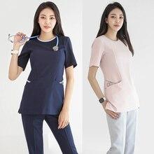New plastic surgery hospital operating room hand-washing service nurse nursing cosmetologist's work clothes