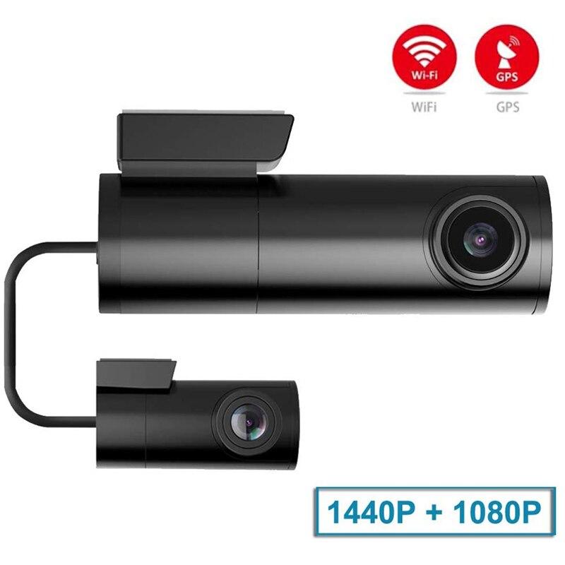 Mini Versteckte Auto Dash Cam DVR mit WiFi Dual Objektiv Auto Kamera dash cam wifi dual dash cam dual wifi auto dash kamera wifi dash cam