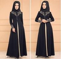 BacklakeGirls New Arrival Muslim Satin Evening Dress Saudi Arabia Conservative High Neck Long Formal Dress robe dubai soiree