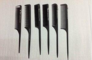 Image 5 - 30 סגנון אנטי סטטי שיער קומבס Detangle ישר בארבר שיער מברשת שיער חיתוך מסרק Pro סלון טיפוח שיער סטיילינג כלי