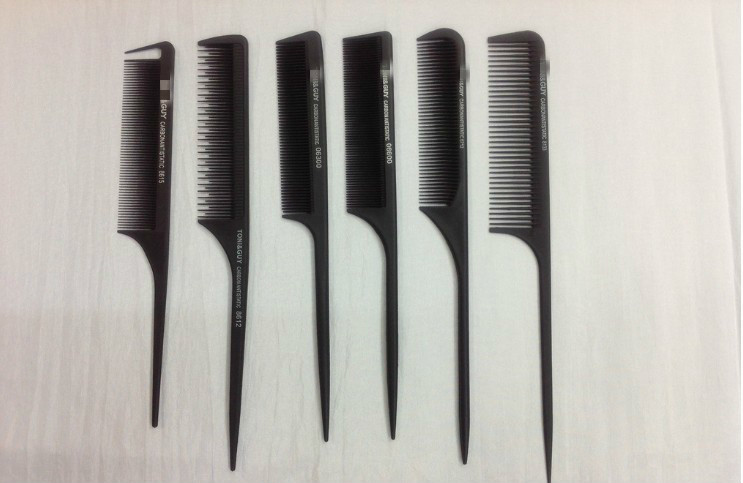 Image 5 - 30 Style Anti static Hairdressing Combs Detangle Straight Hair Brushes Barber Hair Cutting Comb Pro Salon Hair Care Styling Tool-in Combs from Beauty & Health