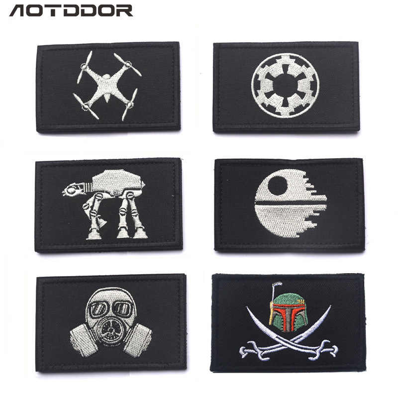Supply of Goods Star Wars Series Badge Embroidered Velcro Shoulder Emblem Bag Decorative Sticker Chapter