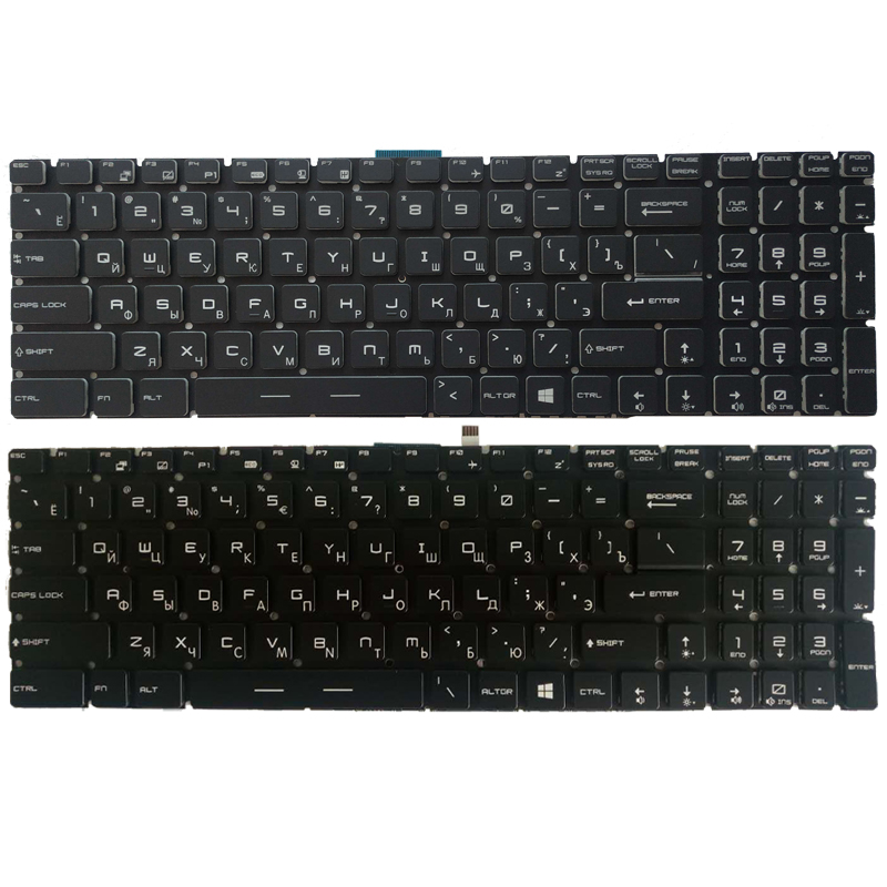NEW Russian Laptop Keyboard For MSI CR62 CX62 CR72 CX72 CX62 2QD CX62   RU Keyboard