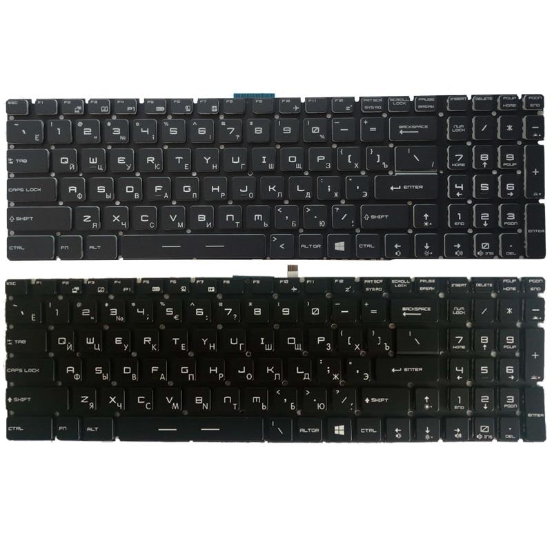 NEW Russian Laptop Keyboard For MSI CR62 CX62 CR72 CX72 CX62 2QD CX62   RU Keyboard