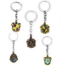 Europe And America New Style harri Potter Hogwarts Magic School Keychain Films And Television Produc