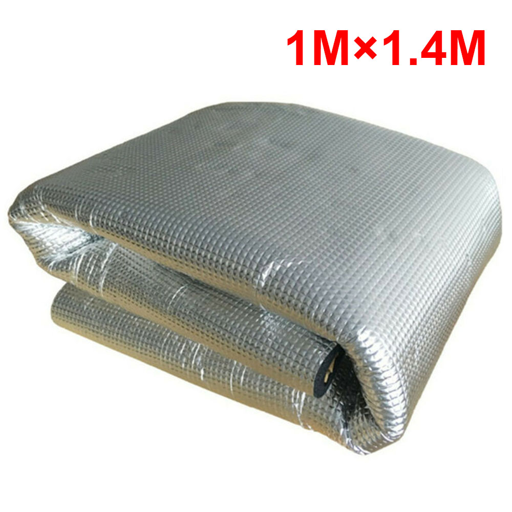 5MM PE Aluminum Car Sound Fire Deadener Thermal Heat Insulation Sound-Absorbing Cotton Mat Car Accessoreis