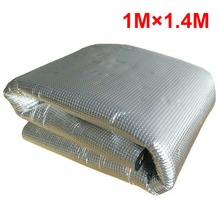 5MM PE+Aluminum Car Sound Fire Deadener Thermal Heat Insulation Sound-Absorbing Cotton Mat Car Accessoreis