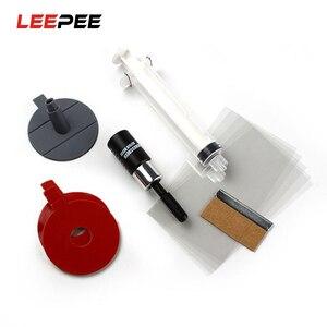 Image 1 - Schutz Aufkleber Für Chip Riss Bullseye Glas Reparatur Kit Auto Windschutzscheibe Automobil Auto Styling DIY Zubehör