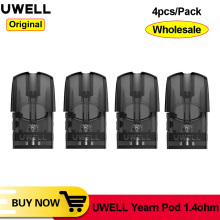 [Wholesale] Original Uwell Yearn Pod Cartridge 1.5ML Atomizer Tank 1.4ohm Coil Fit For E Cigarette Uwell Yearn Pod Vape pen kit