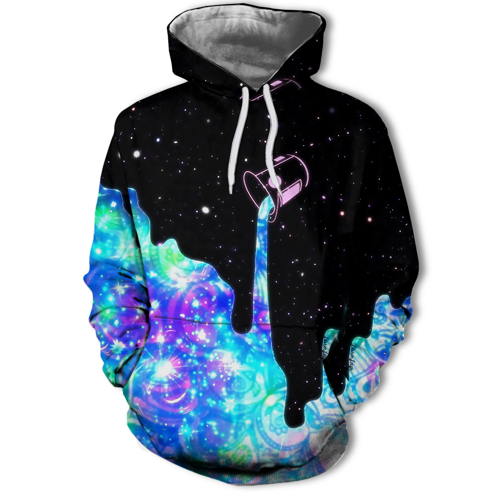H08662af6061c4b4a916fbab67b4fb469g Hot Fashion Men/Women 3D Sweatshirts Print Milk Space Galaxy Hooded Hoodies Unisex Tops Wholesale and retail Jackets Tops