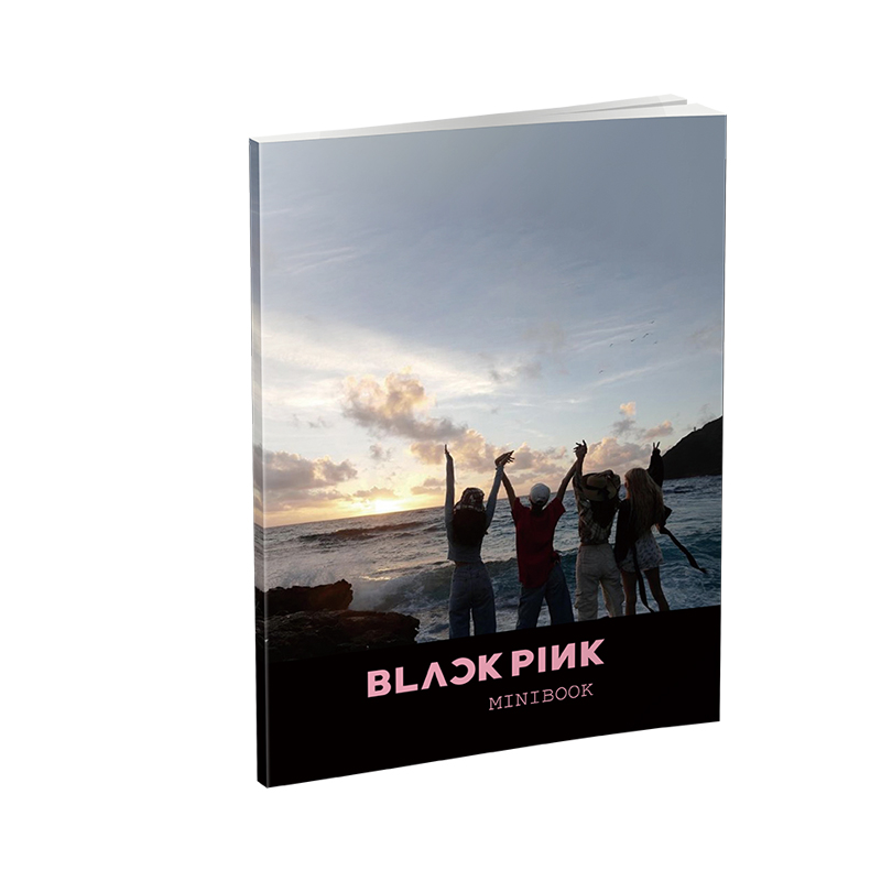 Blackpink Lisa Jennier Jisooroses Card Photo Album Small Cards Photocard Fans Collection Photos Book Stationery Set