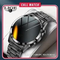 LIGE-reloj inteligente deportivo para hombre, dispositivo resistente al agua IP67 con Bluetooth y llamada, con caja, para Android ios, nuevo, 2021