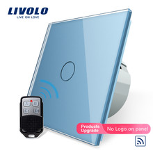 Livolo ЕС стандартный пульт дистанционного управления, AC 220~ 250 В настенный светильник, дистанционный сенсорный выключатель с мини-пультом дистанционного управления, беспроводной переключатель, без логотипа