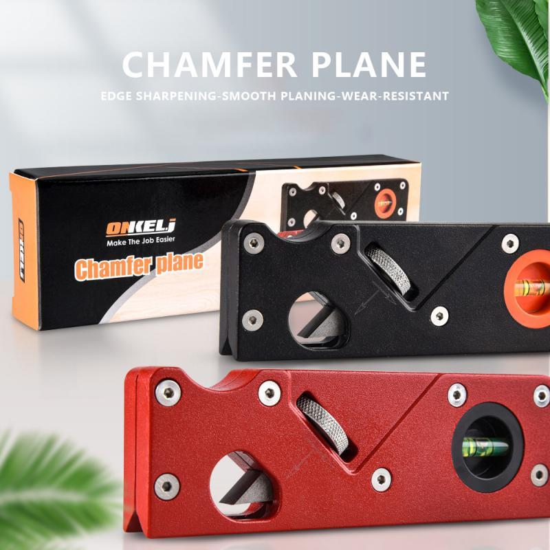 Chamfering Trimming Planer Woodworking Edge Corner Plane 45 Degree Bevel Manual Planer Carpenter Hand Tool Carpenter Gift Useful