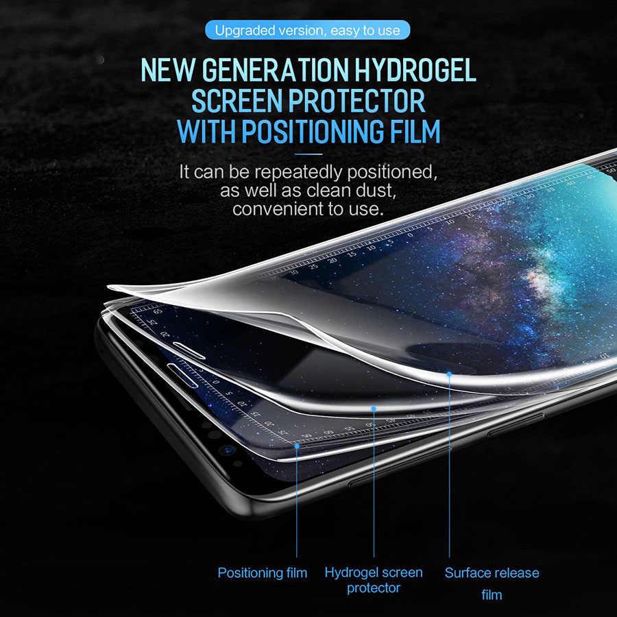 Filme protetor de tela 29d hidrogel para moto rola moto uma visão película protetora para moto g7 g6 g5s g5 e6 e5 mais filme não vidro