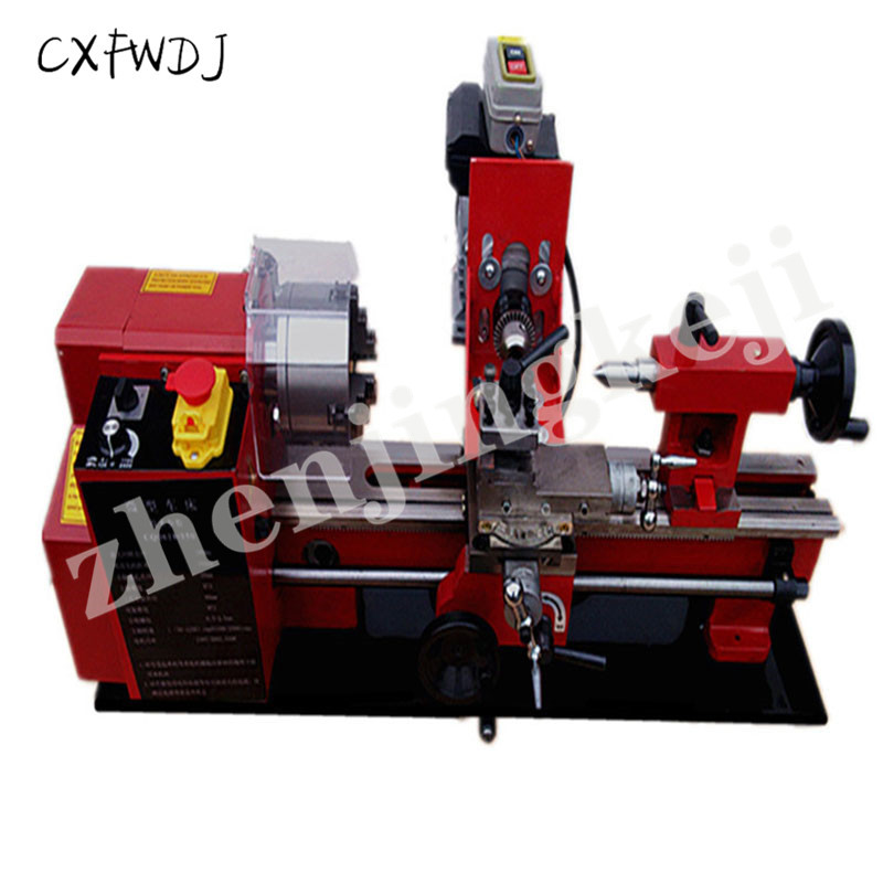 Woodworking Lathe 550W Micro Machine Tool Beads Machine Ball Machine Wood Beads Machine Bodhi Bracelet Processing Center