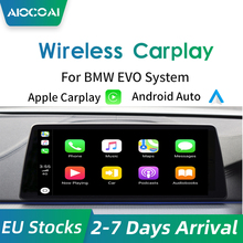 AIOCOAI Drahtlose Apple CarPlay Android Auto für BMW EVO F20 F21 F44 F52 2017-2020 Air spielen