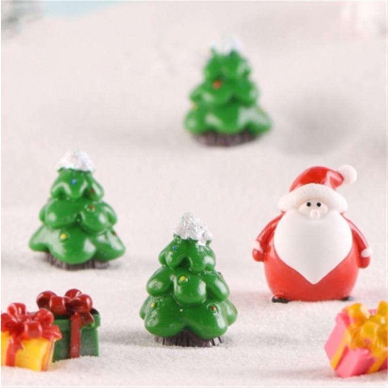 Glass Terrarium Ornament Design Display Rabbit In Snow By Christmas Tree