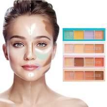 Paleta Profesional para corrector facial, cubierta para manchas de acné, ojeras, corrector de contorno, base cosmética, TSLM1