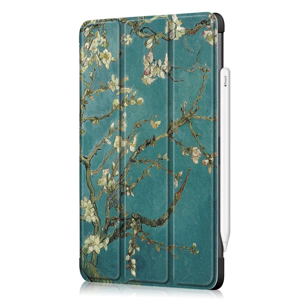 11 Stand Case 11 Apple iPad Leather Foldable for iPad Case Pro 2020 Cover Pro for PU